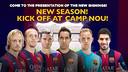 New signings in Joan Gamper Trophy