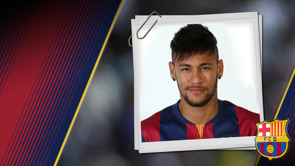 Retrat Neymar da Silva Santos Júnior. Dorsal 11