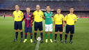 Álvarez Izquierdo was the referee at the Joan Gamper Trophy match / PHOTO: MIGUEL RUIZ - FCB