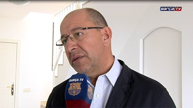 Manel Arroyo was speaking this morning to Barça TV