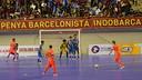 Barça against the Indonesian side / PHOTO: YANYA LUBIS