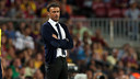 Luis Enrique's first official game as manager ended in victory at the  Camp Nou / PHOTO: MIGUEL RUIZ - FCB