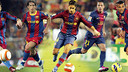 Belletti, Maxwell, Sylvinho, Adriano and Alves