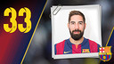 Portrait Nikola Karabatic. Number 33