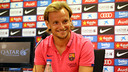 Rakitic spoke to the press at Thursday. lunchtime. PHOTO: MIGUEL RUIZ - FCB