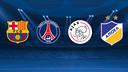 Barça will be going to Paris, Amsterdam and Nicosia