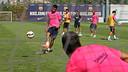 Neymar, en el entrenamiento de este sábado. FOTO: MIGUEL RUIZ-FCB.