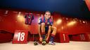 Presentació de Douglas. FOTO: MIGUEL RUIZ-FCB.