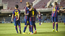Barça B have collected their first three points of the season / PHOTO: VÍCTOR SALGADO - FCB
