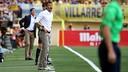 Luis Enrique, pendant le match / Photo Miguel Ruiz-FCB