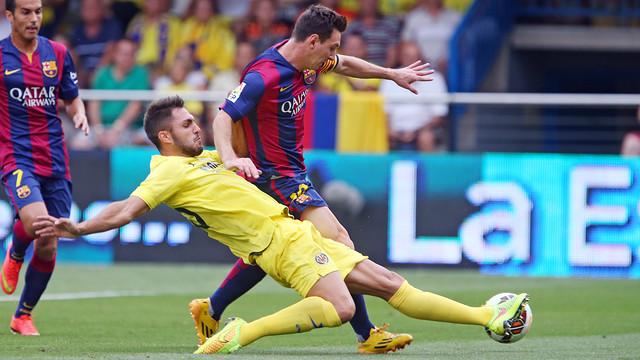 Villareal 0-1 Barcelone : Sandro libère le Barça