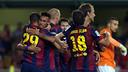 Gol de Sandro en Villarreal. FOTO: MIGUEL RUIZ-FCB.