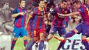 Gerardo, Mario, Jeffren, Pedro i Sandro. FOTO: Fotomuntatge FCB.