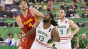 Former FCB man Pau Gasol excelled against Brazil in Granada / PHOTO: FIBA.COM