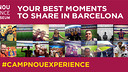 Visit the Camp Nou and Museum and enter the FC Barcelona selfies competition / FOTO: FCB