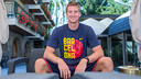 Justin Doellman was speaking in Encamp, where the team are staying. PHOTO: GERMÁN PARGA - FCB
