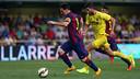 Leo Messi got injured on Sunday against Villarreal / PHOTO: MIGUEL RUIZ - FCB