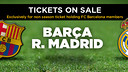 Barça and Real Madrid meet at the Camp Nou on March 21 or 22
