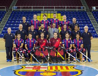 Foto del primer equip d'hoquei patins 2014/15