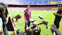 Luis Suárez is one of the stars of the great new video