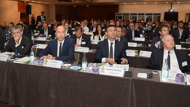 Josep Maria Bartomeu attended the ECA meeting / PHOTO: ECA