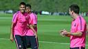 Neymar Jr est revenu à l'entrainement / PHOTO: MIGUEL RUIZ - FCB