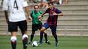The U18 team claimed all three points against Nàstic / PHOTO: MIGUEL RUIZ - FCB