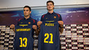 Tomas Satoransky and Tibor Pleiss are talented and hungry for championships / PHOTO: GERMAN PARGA - FCB