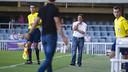 Eusebio Sacristán, durante un partido / FOTO: VÍCTOR SALGADO - FCB