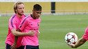 Neymar and Rakitic are both in the squad/ PHOTO: MIGUEL RUIZ - FCB