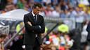 Luis Enrique has dropped his first points as Barça manager. PHOTO: MIGUEL RUIZ - FCB