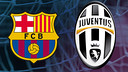 Barça and Juventus, No goals conceded