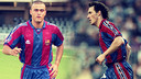 Luis Enrique and Blanc both played at Barça under the late Bobby Robson / PHOTOMUNTATGE FCB