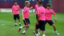 Luis Enrique has called up 20 players for the trip to Paris / PHOTO: MIGUEL RUIZ - FCB