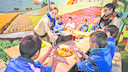 Hundreds of children have learned about healthy eating thanks to the FCB Foundation. PHOTO: GERMÁN PARGA / FCB