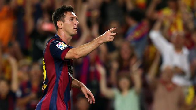 Design dari Messi dengan 100 assits