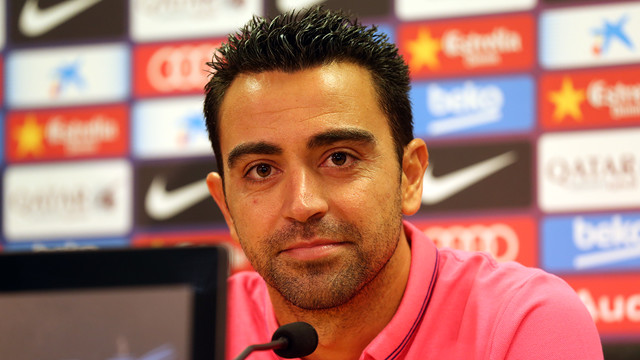 Xavi says Barça have got off to a great start this year. / FOTO: ARXIU FCB