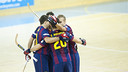 FC Barcelona delivered a fine performance to beat Club Petroleros YPF / PHOTO: VÍCTOR SALGADO-FCB
