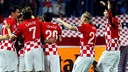 Rakitic helped Croatia hit Azerbaijan for six / PHOTO: FIFA.COM
