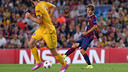 Sergi Samper made his UCL debut against APOEL. PHOTO. MIGUEL RUIZ - FCB