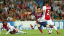 Messi got a hat-trick against Ajax last season / PHOTO: MIGUEL RUIZ-FCB