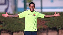 Dani Alves was among the players that trained on the day before meeting with Ajax. PHOTO: MIGUEL RUIZ-FCB.