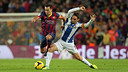 Xavi Hernández and Sergio García will be meeting in another derby at the Camp Nou / PHOTO: MIGUEL RUIZ - FCB