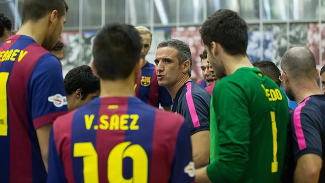 El filial va superar un equip Asobal per ser a vuitens. / FOTO:GERMAN PARGA-FCB