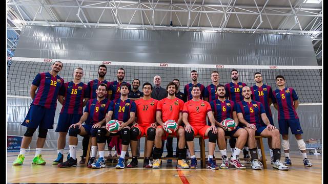 Volleyball men's team 2014/15