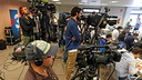 The press room was packed this week / PHOTO: MIGUEL RUIZ - FCB
