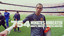 Claudio Bravo's record streak has ended at 754 minutes.  / PHOTO: FCB