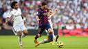 Leo Messi pendant le Clasico / PHOTO: MIGUEL RUIZ - FCB