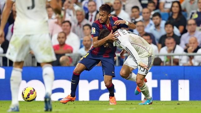 Neymar ha igualat el gol més ràpid blaugrana en un Clàssic disputat a Madrid