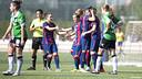The FC Barcelona women beat Oviedo for their fifth straight win / PHOTO: VICTOR SALGADO  - FCB